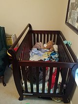 3 in 1 Baby toddler crib and dresser changing table in Warner Robins, Georgia