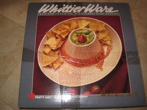 (NEW) 1980's Whittier Ware Party Hat Chip & Dip Ceramic Sombrero Hat in Travis AFB, California