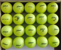 20 Titleist DT Truesoft and DT Solo Yellow golf balls near mint condition n in Glendale Heights, Illinois