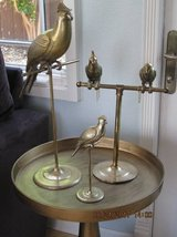 4 Solid Brass Birds On Stand in Fairfield, California