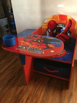 Spider-Man desk in Morris, Illinois