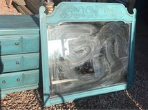 reduced! 5 piece distressed bedroom set in Alamogordo, New Mexico