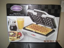 (NEW) Retro Waffle Maker by World Market in Travis AFB, California