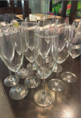Wine/Champgine Flutes in Fort Bliss, Texas