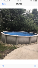 Swimming pool with everything in St. Charles, Illinois