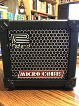 Roland Micro Cube Amp   JUST REDUCED in Oswego, Illinois