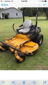 Aerator and mower and sprayer in Beaufort, South Carolina