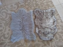 ~Faux fur rugs~ in Yucca Valley, California