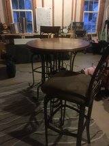wine bar table and stools/ pub table in Fort Belvoir, Virginia
