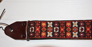 Rare Ace Guitar Strap from 1960s in Sandwich, Illinois