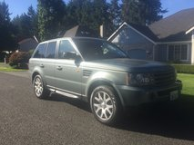 2007 range Rover HSE AWD in Fort Lewis, Washington