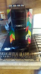 Mr. Coffee single serve Keurig with stand/storage drawer in St. Charles, Illinois