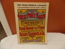 Replica 1908 Sears Roebuck Catalogue in Fort Campbell, Kentucky