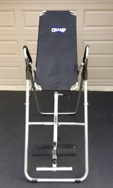 Champ Inversion table Excellent Condition in Tinley Park, Illinois