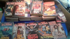 R.l stine books lot of 34 to 36 in Fort Riley, Kansas