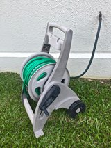 *REDUCED* Suncast Hosemobile Garden Hose Reel Cart with Hose in Okinawa, Japan