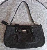 Like NEW COACH Black Wristlet/ Small Purse/ Handbag/ Clutch/ Wallet in Okinawa, Japan