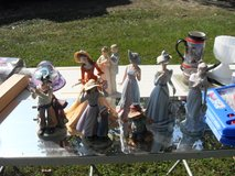 Porcelain figurines in Fort Leonard Wood, Missouri