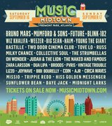 Music Midtown 2 Day Ticket in Macon, Georgia