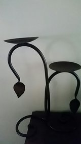 Black Wrought Iron Candle Holder in Okinawa, Japan