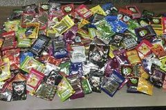 Brain freeze,grapa ape,bizarro,scooby snax,black diamond,get real herbal incense aromatic potpourri in League City, Texas