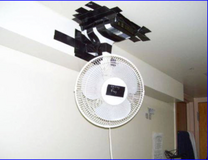 Ceiling or Wall mounted Fan Price Reduced!!!! in Hohenfels, Germany