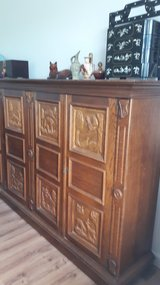 Large Buffet Solid Oak Storage unit in Spangdahlem, Germany
