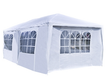 20 x 10 White Tent for Outdoor Picnic Party or Storage – Alekoproducts.com in Olympia, Washington