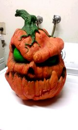 awesome Halloween evil pumpkin in Yucca Valley, California