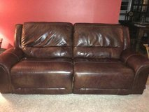 Jayron leather reclining set by Ashley in Fairfax, Virginia