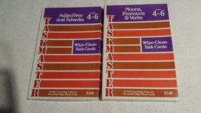 1976 - Taskmaster - wipe clean task cards in Lockport, Illinois