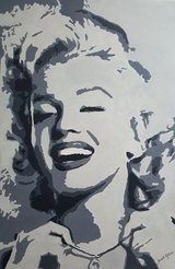 Oil Painting Marilyn (hand painted) in Vicenza, Italy
