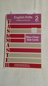 1976 - Taskmaster - wipe clean task cards - (no box) in Batavia, Illinois