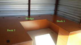 HON Office Desks, Returns and Bridge in Morris, Illinois