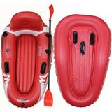 Set of 2 Inflatable Rafts/Kayaks with paddles in Fort Gordon, Georgia