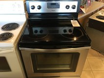 Whirlpool Stainless Smooth Top Range - USED in Fort Lewis, Washington