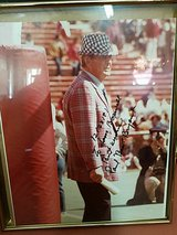 Original signed Bear Bryant photo in Fort Rucker, Alabama