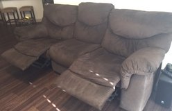 Power Reclining Sofa and Loveseat Set EXCELLENT CONDITION in Conroe, Texas