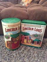 Lincoln Logs in Nellis AFB, Nevada
