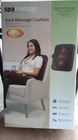 Back massage cushion (new) in Fort Campbell, Kentucky