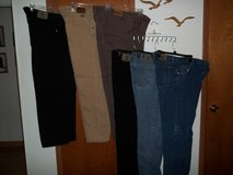 6 PAIR OF MEN'S WRANGLER PANTS FOR $40 OR BEST OFFER - EXCELLENT CONDITION! in Cherry Point, North Carolina