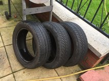 3 tyres good tread 165/60/R14 in Lakenheath, UK