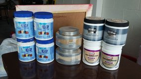 Paint samples in Fort Campbell, Kentucky