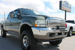 2004 Ford F250 King Ranch Crew Cab 4X4 Diesel #10704 in Bowling Green, Kentucky