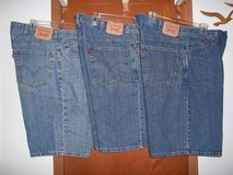 3 PAIR OF MEN'S LEVI STRAUSS & CO. SHORTS - EXCELLENT CONDITION! in Cherry Point, North Carolina