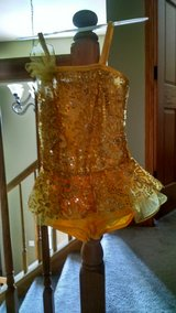 Dance recital dress/Halloween costume with yellow Tutu in Naperville, Illinois