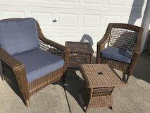 Wicker his chair her rocker 2 stands or best offer in Tacoma, Washington