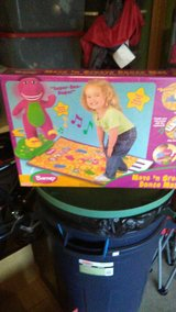 Brand New Barney Dance Mat in Bolingbrook, Illinois