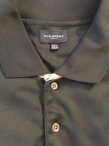 Burberry men's gold polo in Travis AFB, California