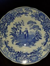 Spode collectable plate in Eglin AFB, Florida